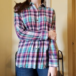 Women's Flannel American Living size Medium